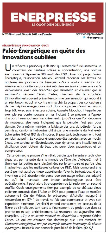 2015-08_paleoenergetique enerpresse
